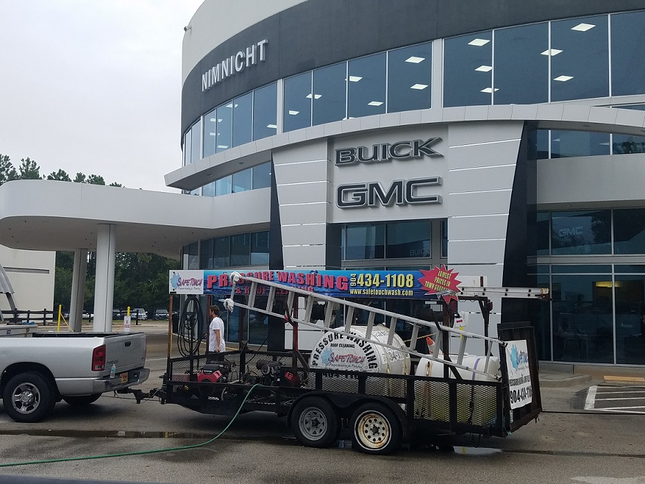 Commercial Pressure Washing Jacksonville