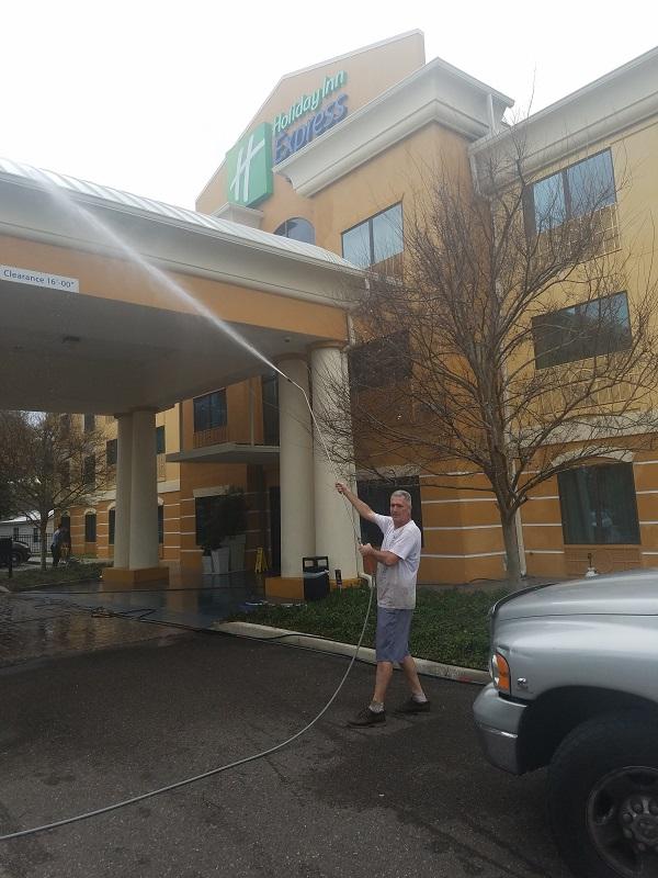 Hotel Pressure Cleaning Jacksonville
