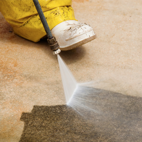 hot water pressure washing service